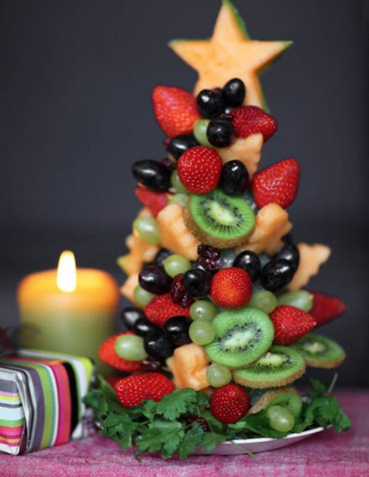 This edible Fruit Christmas Tree will be a stunning centrepiece on your festive table. You'll love the Strawberry Christmas Trees too!