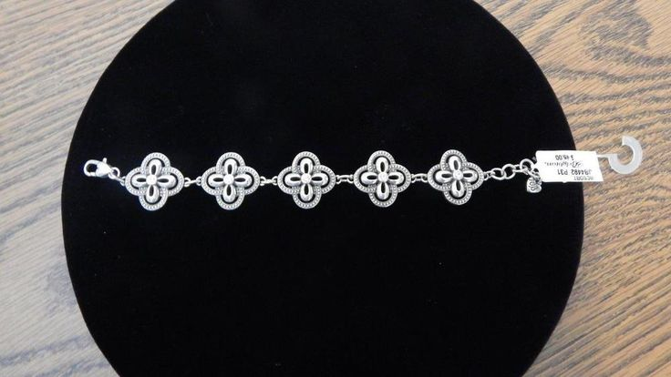 Genuine Brighton Resort Cross JB4492 Silver-plated Bracelet NWT #Brighton