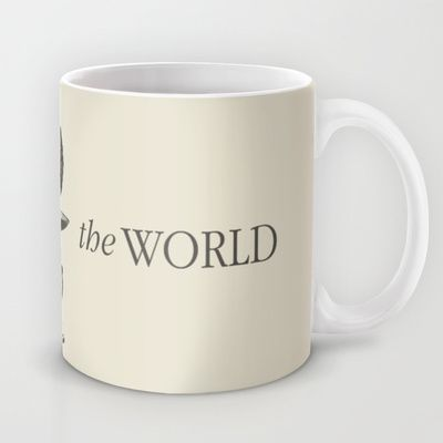 Weight of the World Mug by Nameless Shame - $15.00