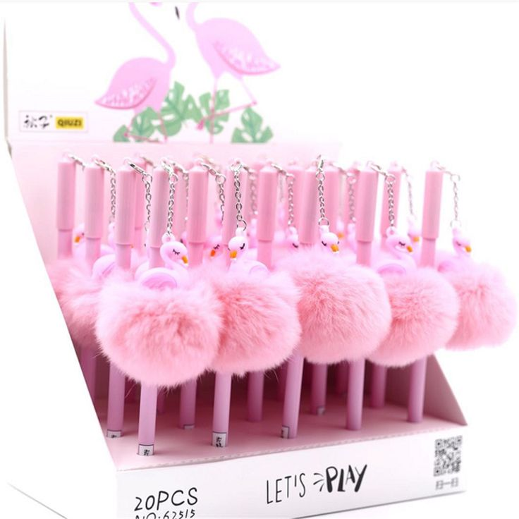 Cheap pen school, Buy Quality gel pen directly from China pen stationery Suppliers: 1pc lovely Puffer Ball flamingos Neutral pen Stationery Kids Gift 0.5 mm Gel Pen School & Office Writing Supply escolar kawaii