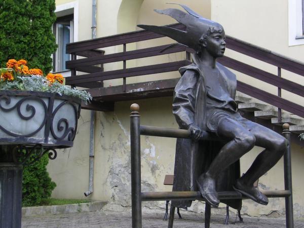 Little princess by Laszlo Marton in Tapolca
