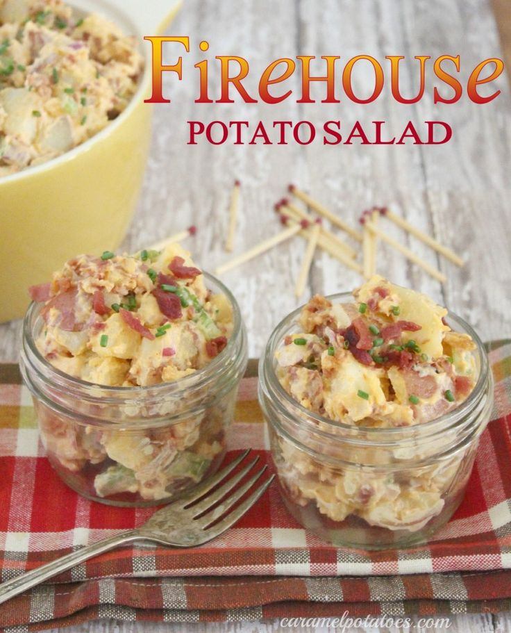 Firehouse Potato Salad - Caramel Potatoes