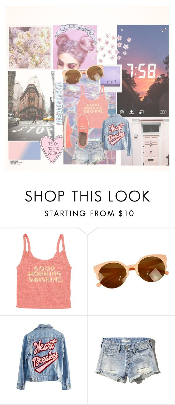 """""""Sin título #243"""" by camilazeballo on Polyvore featuring moda, Billabong, High Heels Suicide, Abercrombie & Fitch y Reef"""