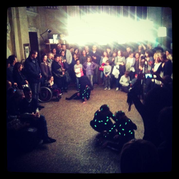 Una serata speciale! Ricca di luce, musica, danza e Design! Grazie a tutti!!!!