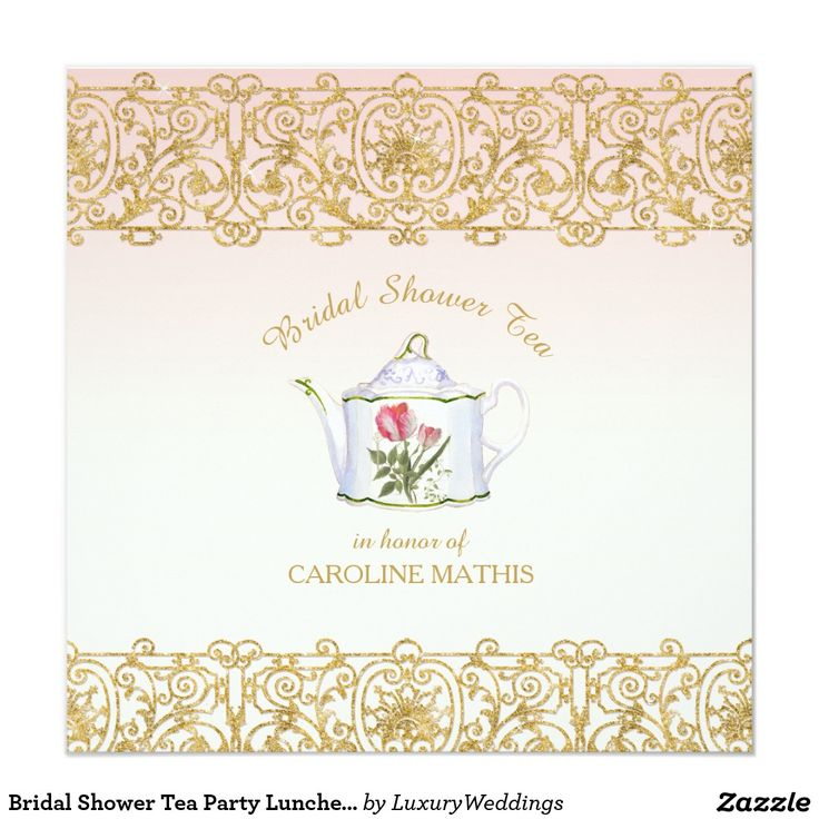 127 best WEDDING: BRIDAL LUNCHEON Invitations images on Pinterest ...
