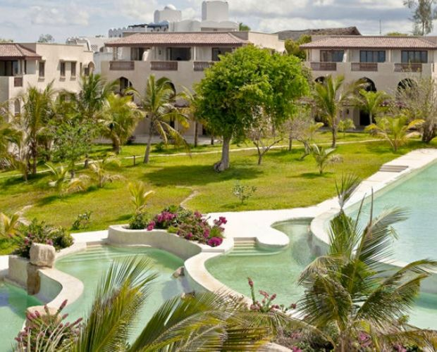SWAHILI BEACH- This unique hotel offers a harmonious blend of the architectural influences from the East African coast, Arabia, India, and Zanzibar that have fused over millennia to create the vibrant Swahili culture to offer an air of sophistication unseen on the Kenya coast, Swahili Beach has been designed with state-of-the-art technologies to ensure minimum short & long term ecological impact, while delivering unparalleled comfort to its guests.