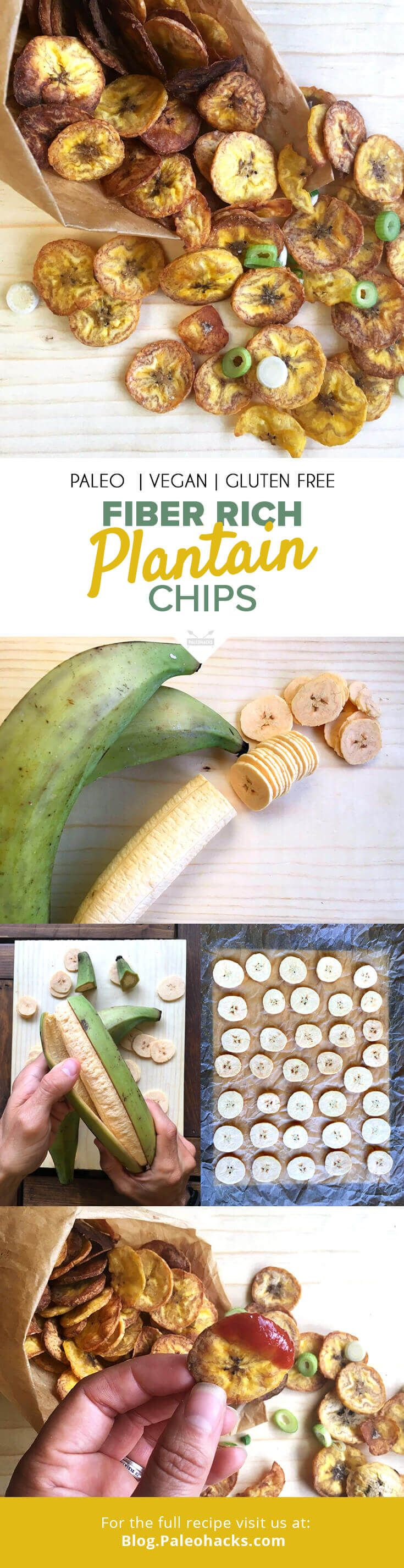 If you have a soft spot for savory, crunchy food, then these plantain chips are your new best friend. For the full recipe visit us here: http://paleo.co/platainchips