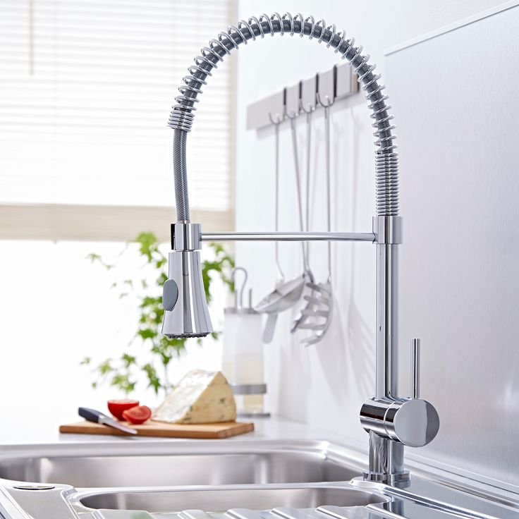 Pull Out Kitchen Mixer Tap - Image 2