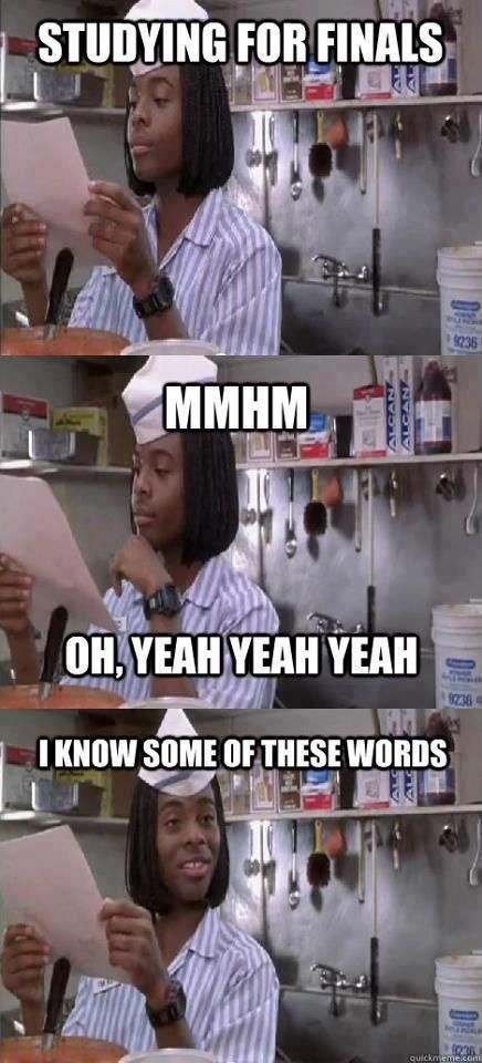 my college life: studying for anatomy and physiology finals : mhm, oh, yeah yeah yeah... I know some of these words!