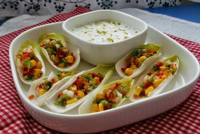 Gosto pelos Sabores: Salada de endivías Dia Um...Na Cozinha