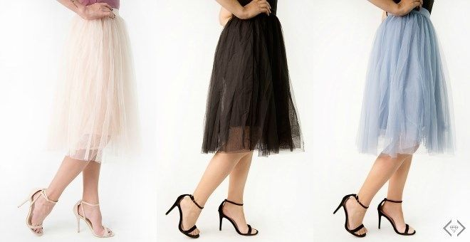 Tulle Ballerina Skirts   S-L   5 Colors!