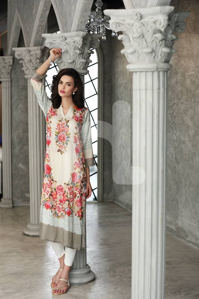 Time to Shine this EID with Nishat Linen's Eid Collection 2015