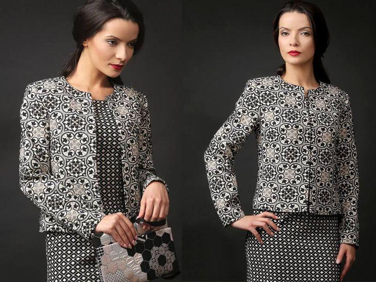 Beautiful, elegant cotton brocade cotton jacket #jacket #brocade #cotton #elegantoutfit #yokkoinspiration #feminity #beauty