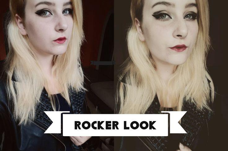 Rocker look  #Rocker #rockerlook #cool #makeup #eyemakeup