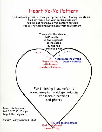 Heart Yo-Yo Pattern
