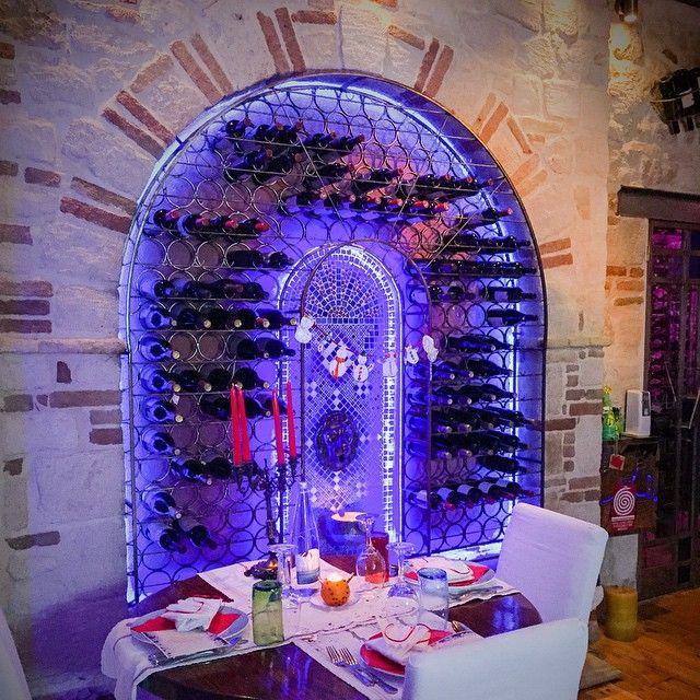 Christmas Rethymno -Enoteca wine cellar- Old town of Rethymno - Crete