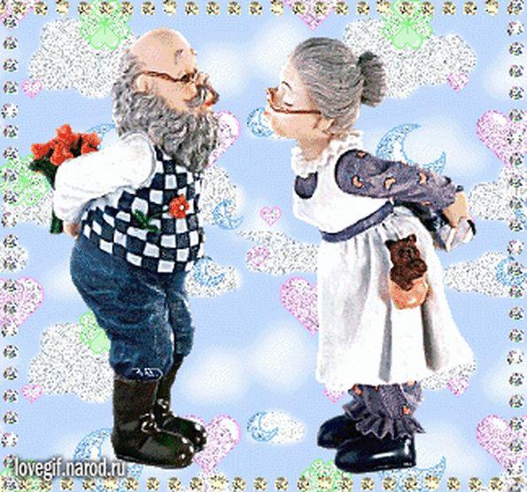Картинки, гифки для бабушки и деда с днем рождения внука 1 годик