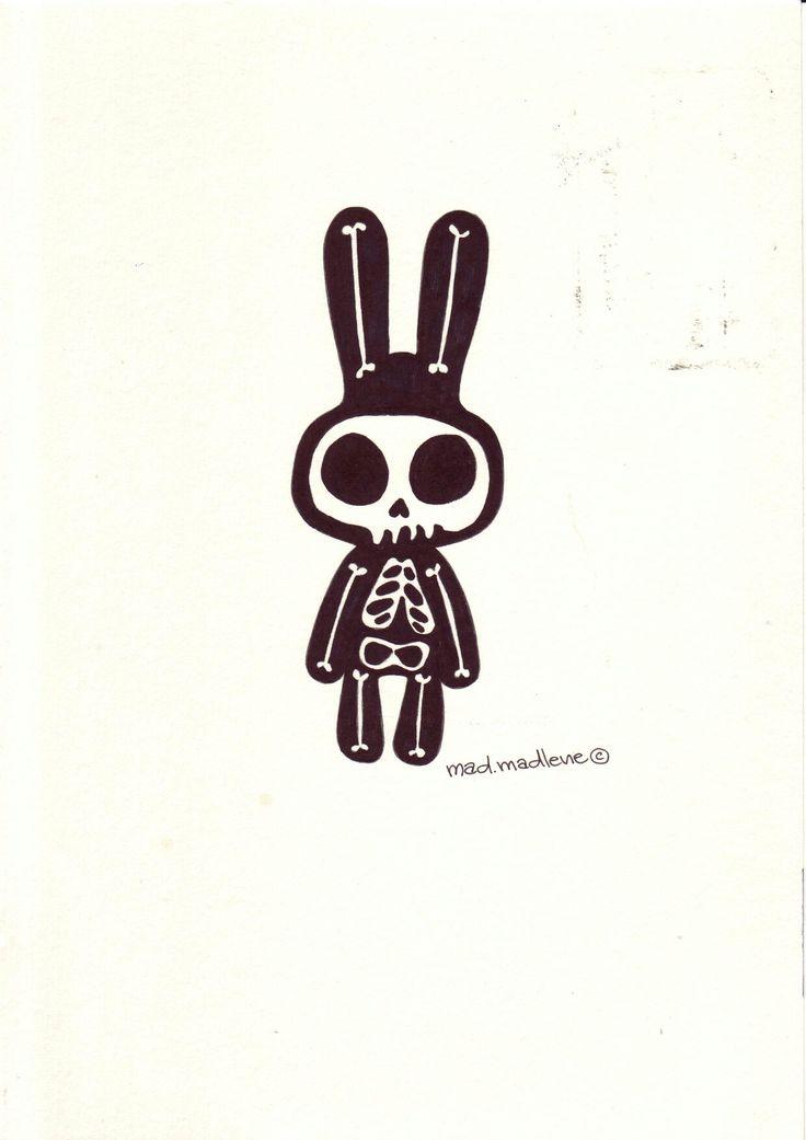 Rabbit by Mad.Madlene Art
