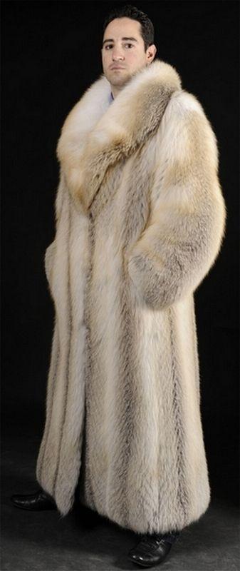 Full Length Mens Fur Coats