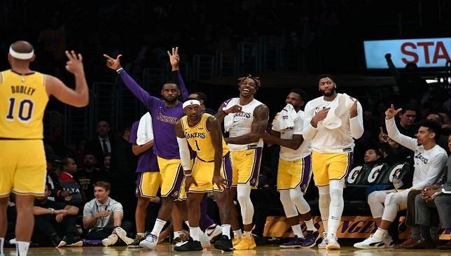 Nba ليكرز يحسم قمة الغرب أمام سبيرز Los Angeles Lakers Memphis Grizzlies Anthony Davis