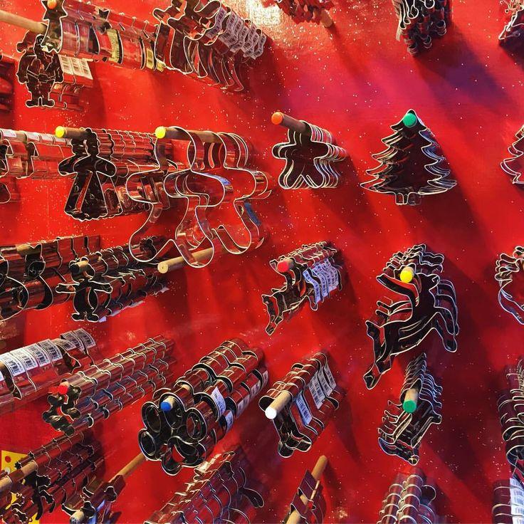 Forme til kagemænd på julemarked i Berlin