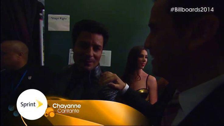 Chayanne habla backstage en los Premios Billboard 2014
