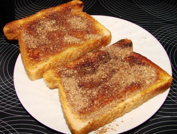 Cinnamon toast...my daughter wants it