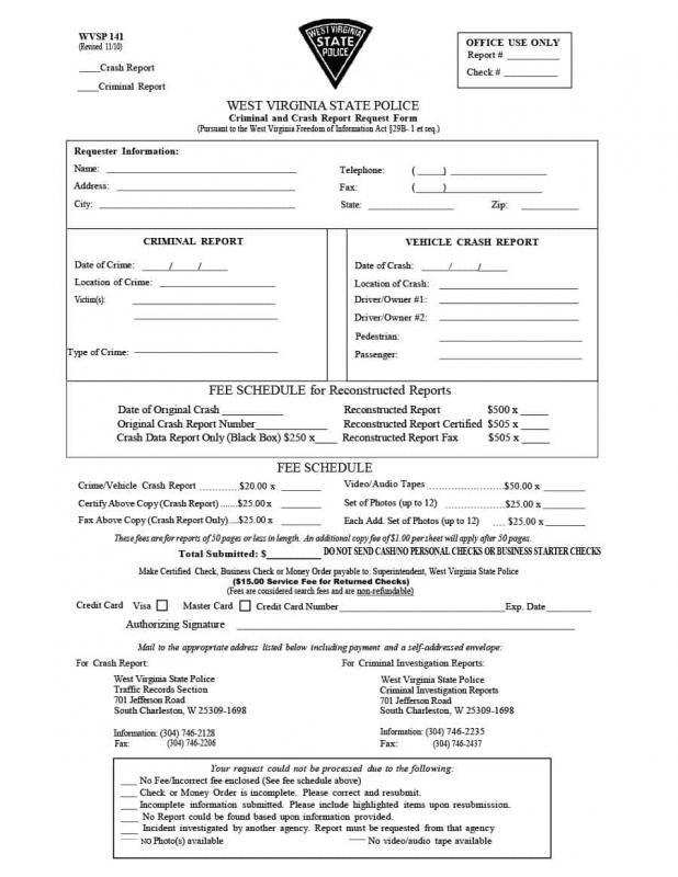 police report sample template pinterest templates report