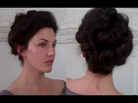 Best Steampunk Hair Images On Pinterest Beauty Makeover - Gibson girl hairstyle youtube