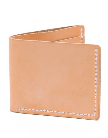 Context Leather Hermann Oak Natural Leather Wallet