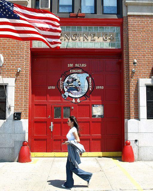 E064 FDNY Firehouse Engine 64, Castle Hill, Bronx, New York City | Flickr - Photo Sharing!