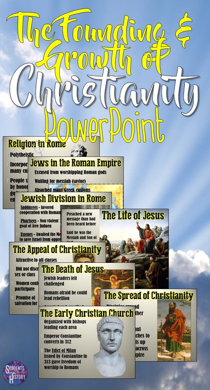 the history of christianity and its spread throughout the world History of christianity including the spread of christianity,  in its greek form of  by the mid-3rd century there are about 100 bishops spread throughout.
