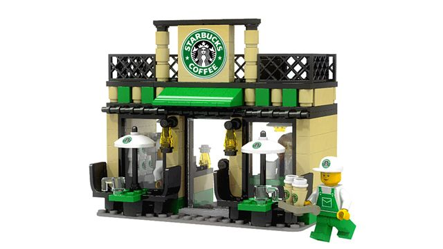 LEGO Ideas - Mini Shop Series STARBUCKS - can someone just sell this NOW?  then we can give it to dad to play with after his surgery!
