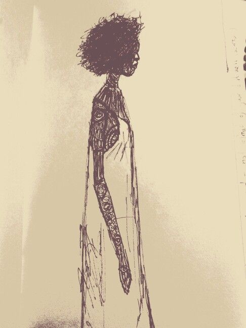 afro true self inspired by wasia ward artbywasia.com