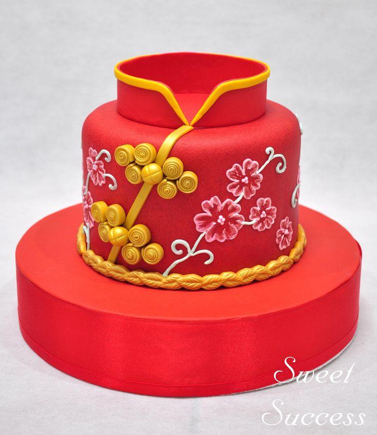 Cheongsam Cake 5