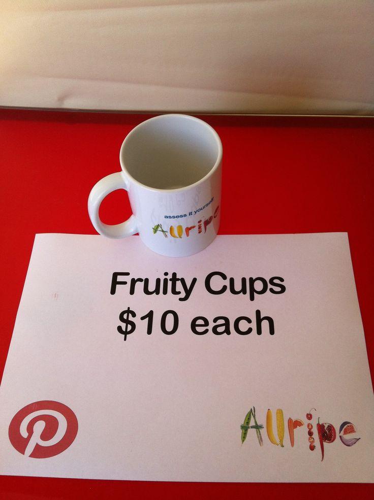 Allripe Fruity Mug $10