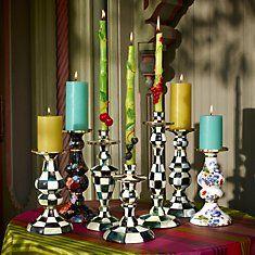 Candlesticks - MacKenzie Childs