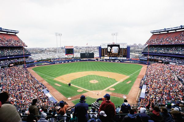 Shea Stadium (home of the Mets /baseball team) is another Landmark in Queens, NYC.