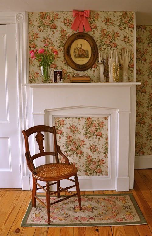 53 best blocked fireplace images on pinterest mantles for Blocked fireplace ideas
