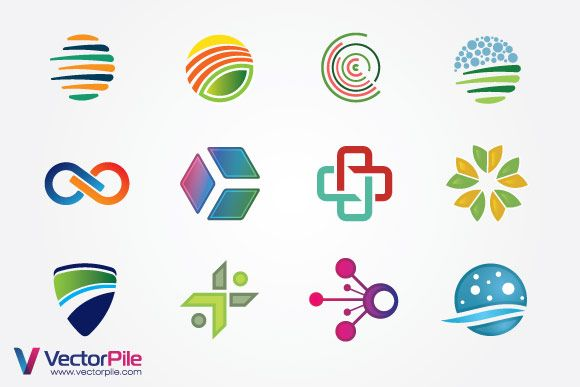 Free Mixed Logo Vector Design Elements vector illustrator free download - F4pik