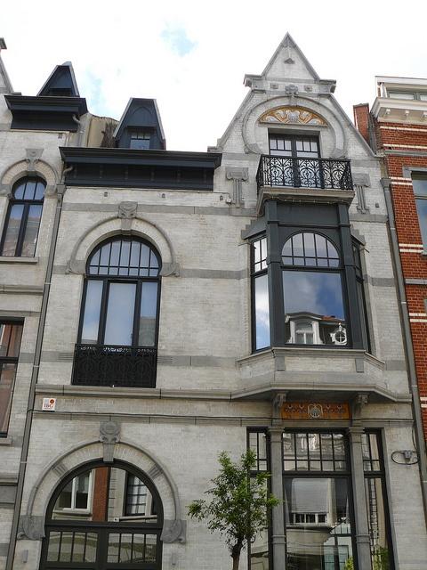 17 best images about art nouveau on pinterest tassels for Architecte bruxelles