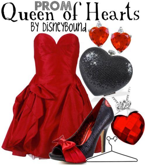 IT'S ME!!! Queen of Hearts, Alice in Wonderland. <3