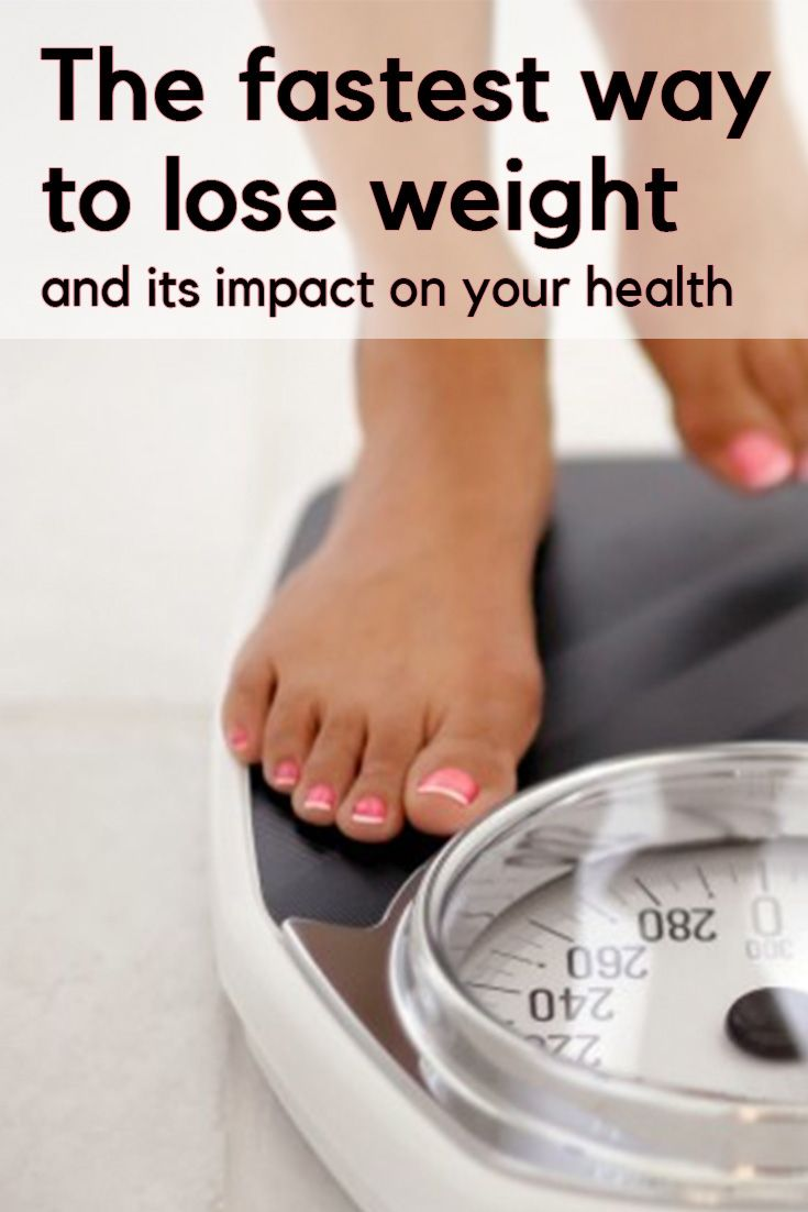 best healthiest way to lose weight fast