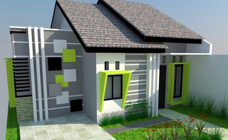 Gambar Desain Warna Cat Rumah Minimalis Terbaik 60 Warna ...
