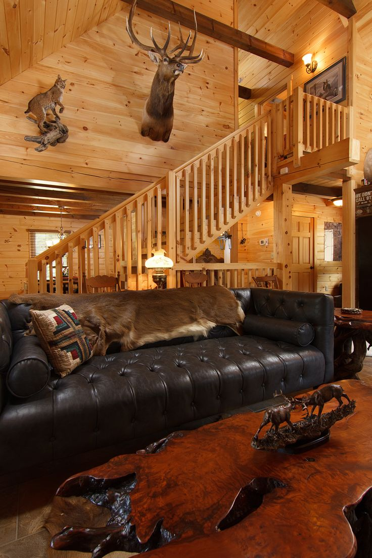 24 best images about log home great rooms on pinterest for Log cabin chandelier