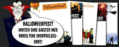 Alt til Halloween festen - Skattejagt til børnefødselsdag | Mordmysterier | Festlege | www.Grapevine.dk