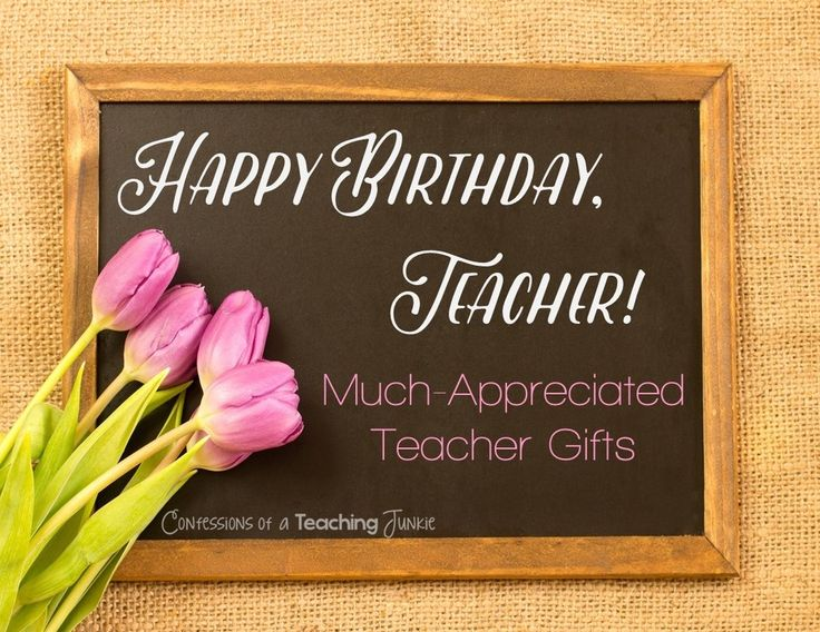 Birthday Quotes for Teacher