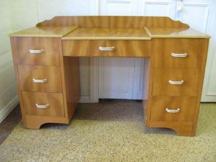 $80 RETRO Timber DRESSER DRAWERS Storage Veneer Table Text 0411691171 or email info@bitspencer.com