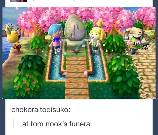 Animal Crossing...lol that's just wrong lol