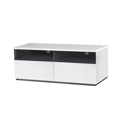 "Casabianca Furniture Cristallino TV Stand Size: 19"" H x 94.45"" W x 17.75""D"